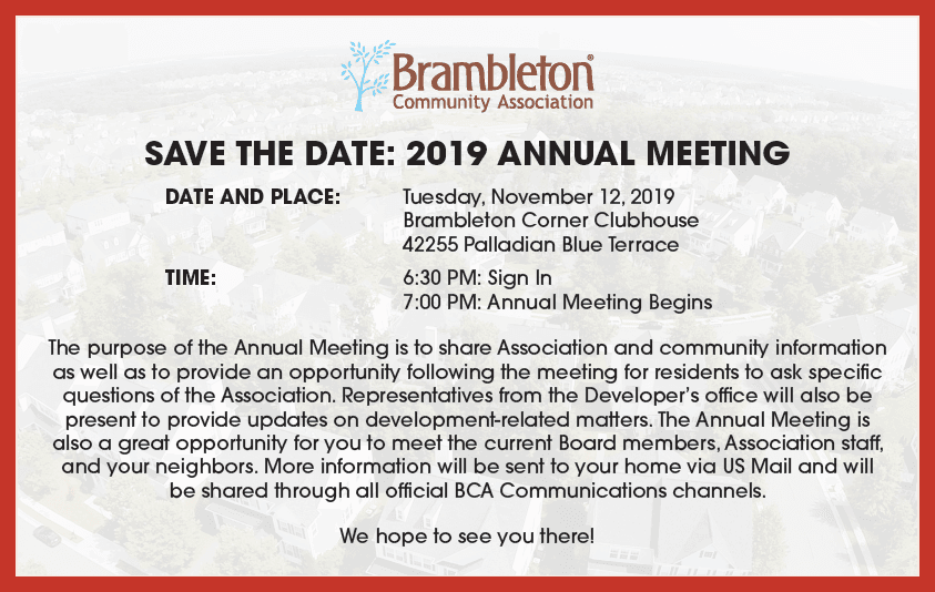 2019 Annual Meeting Graphic